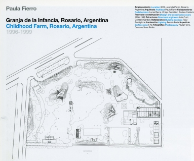 Paula Fierro, granja-de-la-infancia plano - GG Nueva arquitectura del paisaje latinoamericana - Miguel Adrià