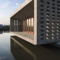 """Lu Wenyu y Wang Shu, """"Ceramic House"""", 2003-2006. Jinhua"""
