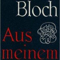 "Bloch Karola. Tapa del libro ""Aus meinem leben"""