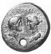 Octavia Minor, moneda