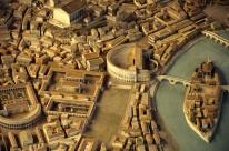 Octavia Minor, Pórtico de Octavia dentro de la maqueta de Roma